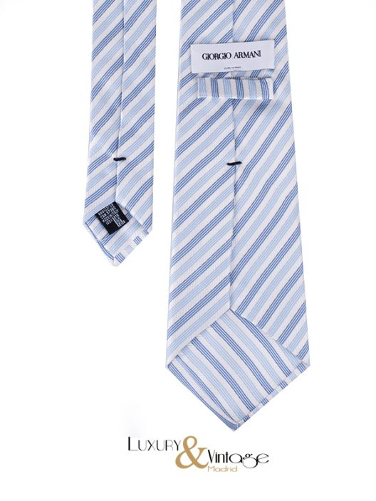Giorgio Armani Neck Tie Stripes Print