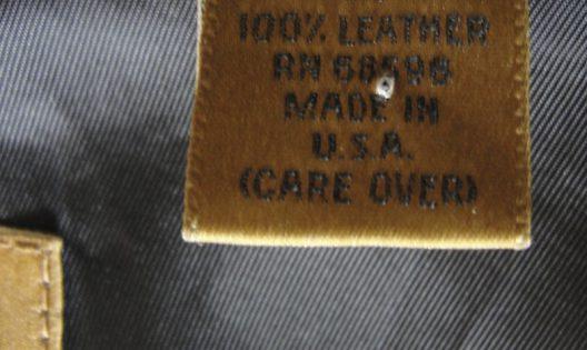 Leather Coat Donna Karan Gold Label Large Size