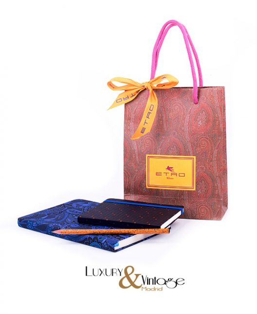 Etro notebook & pocket notebook whit pencil