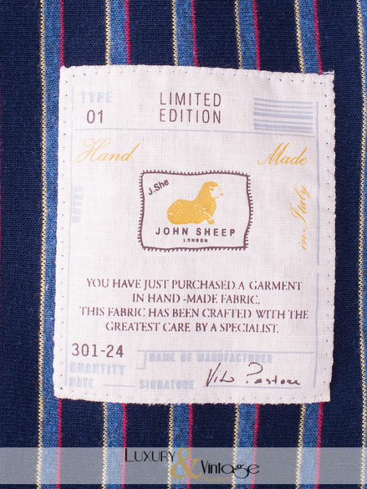 "John Sheep Limited Edition ""Hand made"" Slim-Fit Jacket"
