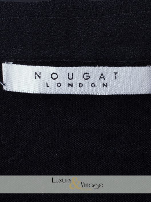 Nougat London top with lace details