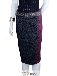 Sibilla Pavenstedt Velvet Pencil Skirt