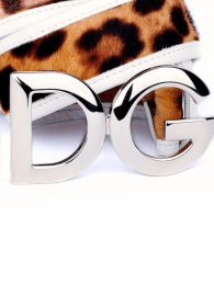 Dolce & Gabbana Animal print belt