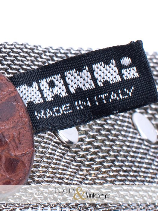 "Leather belt ""cowboy style"" with metal"