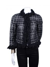 Giambattista Valli Luxurious Tweed Sequin Jacket