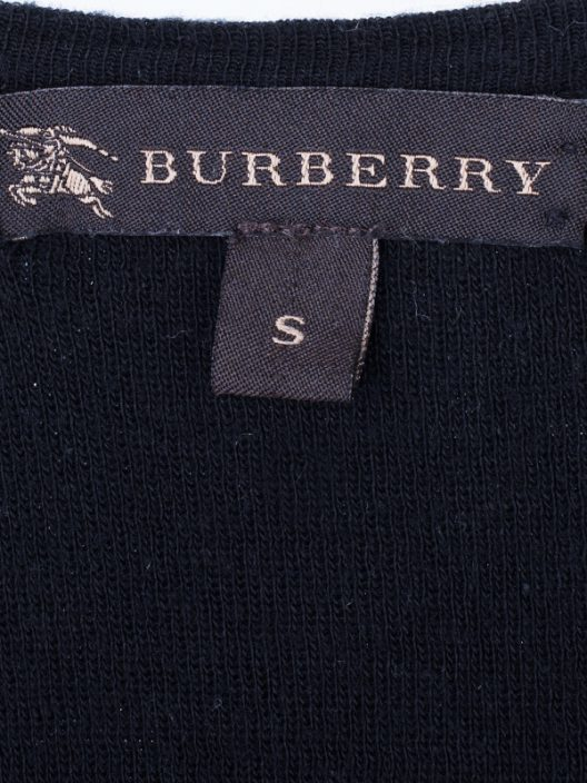 Burberry Prorsum Silk Cotton Top