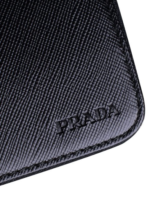 Prada Document holder Saffiano leather