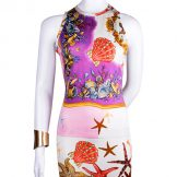 Gianni Versace Vintage Dress with Cardigan