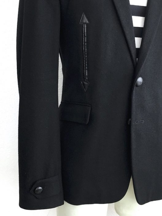 Kris Van Assche Wool-Cashmere Slim Fit Jacket Two Button