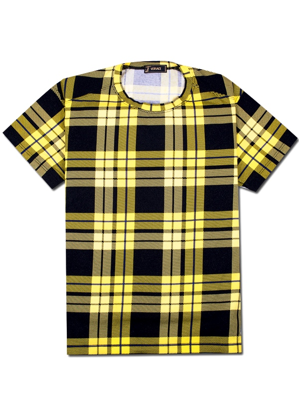 Versace-yellow-squares-t-shirt