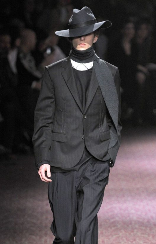 Lanvin Visible Seams Jacket AW 2011