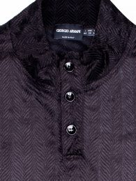 Giorgio-Armani-Dark-Brown-shirt