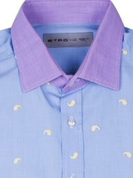 Etro Slim-Fit Cotton Shirt