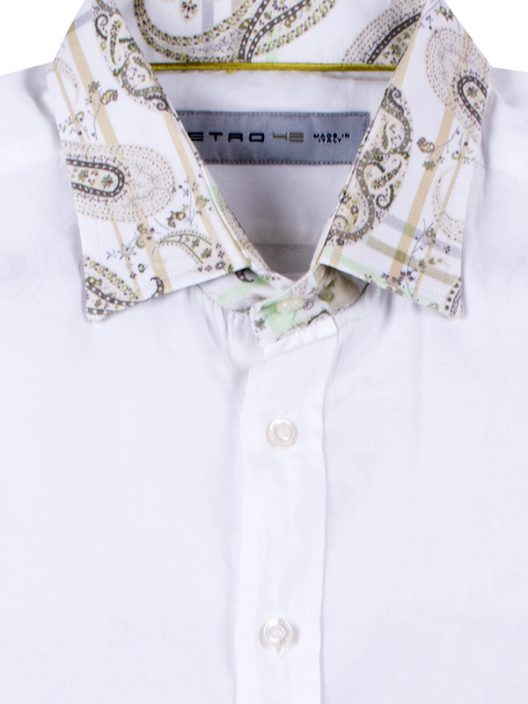 Etro Cotton Slim-Fit Shirt