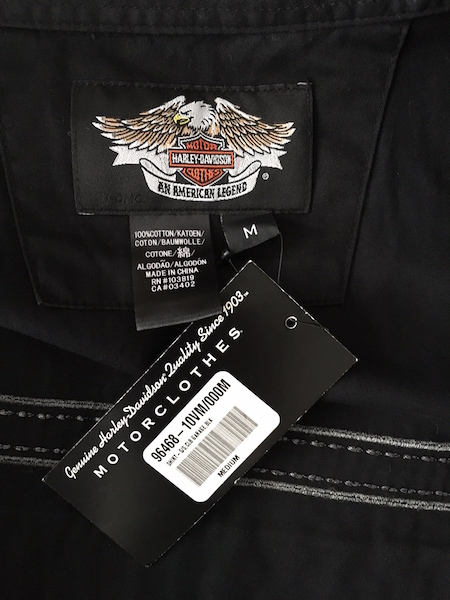 Harley-Davidson Cotton Shirt