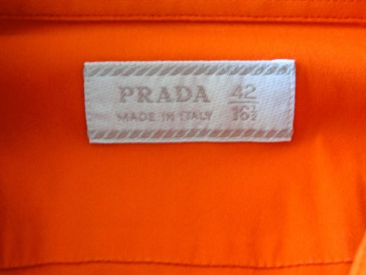 Prada Slim-fit Cotton Shirt