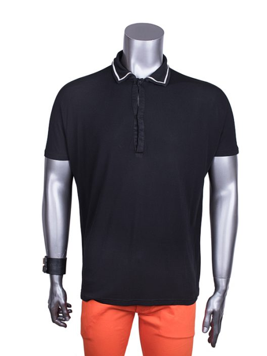 Gianni Versace Black Polo