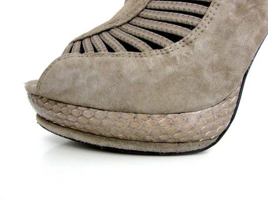 Sam Edelman Suede Boot 125mm Heels