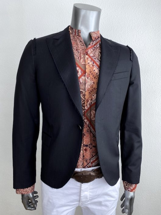 RARE Lanvin by Lucas Ossendrijver Blazer one button