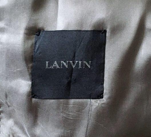 Lanvin by Lucas Ossendrijver Slim Fit Jacket