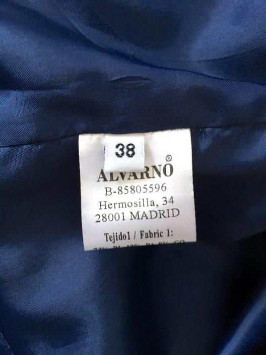 Alvarno Jacquard Lurex Evening Coat - Unique Pieces Collection
