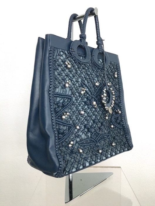 Robert WAN | Best Tahitian Pearls Leather-Python Tote Bag Limited Edition