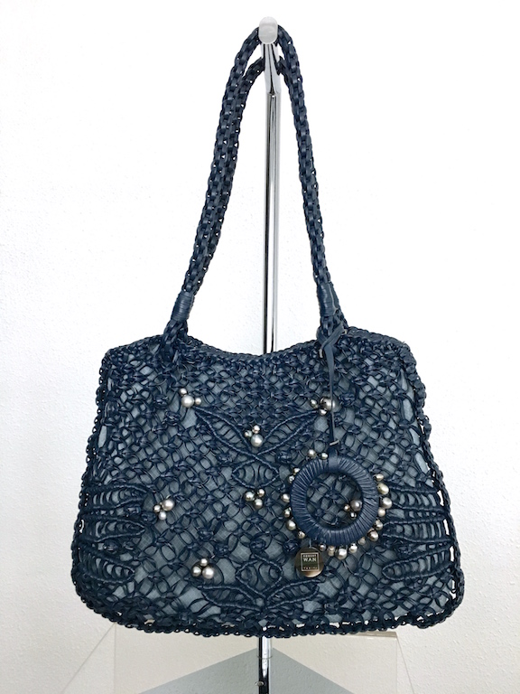 Robert WAN | Best Tahitian Pearls Leather-Python Bag Limited Edition
