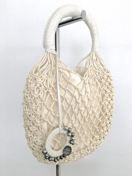 Robert WAN | Best Tahitian Pearls Leather-Python Hobo Bag Limited Edition