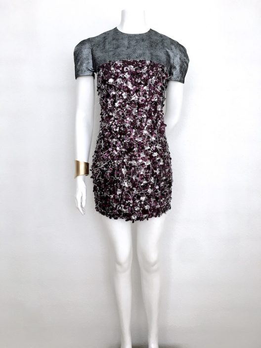 Alvarno Sequin Mini Dress