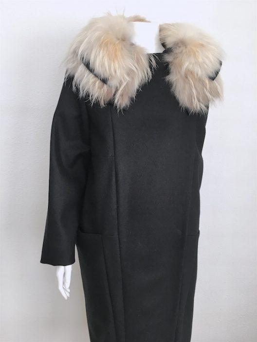 Alvarno Oversize Wool Coat - Unique Pieces Collection