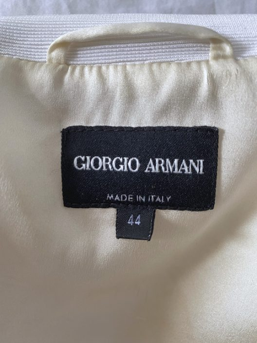 Giorgio Armani Off-White Jacket