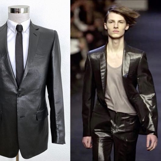 "VERY RARE JACKET DIOR HOMME FW01 ""Soilitaire"" Collection By Hedi Slimane"