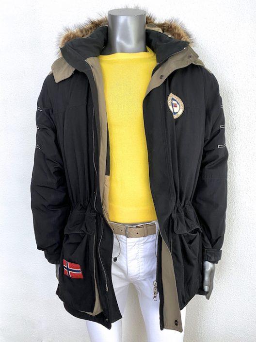 Napapijri Black Parka-Jacket