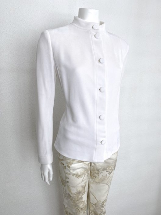 Giorgio Armani Off-White Unstructured Jacket