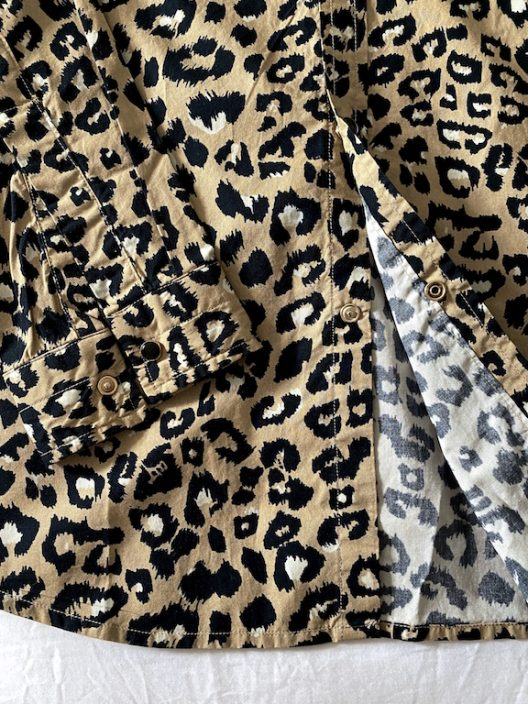 MSGM Animal Print Cotton Shirt Sz 42cm - 16 1/2""
