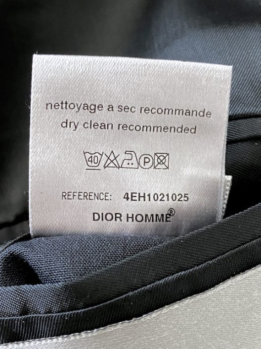 DIOR HOMME FW04 By Hedi Slimane Party-Cocktail Slim Fit Jacket