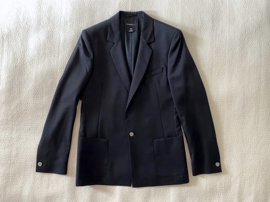 Collector's Piece Karl Lagerfeld for H&M Black Wool Slim Fit Jacket