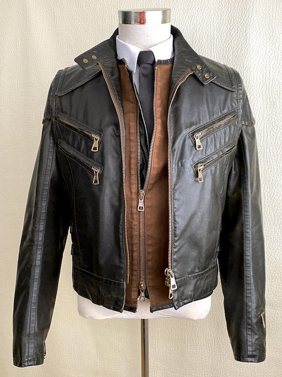 RARE Dsquared2 Runway Biker Jacket-Vest 3 in 1