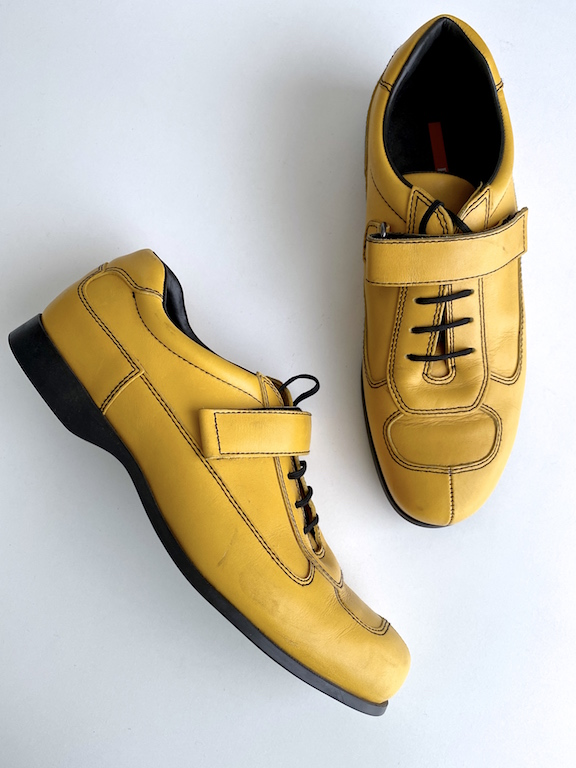 Prada Yellow Sneaker - Casual Shoes