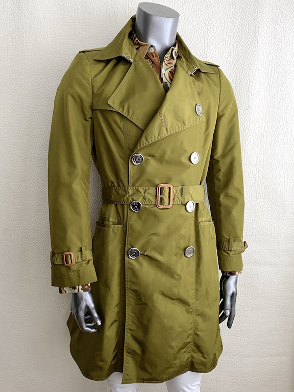 Burberry Prorsum Khaki Trench Coat