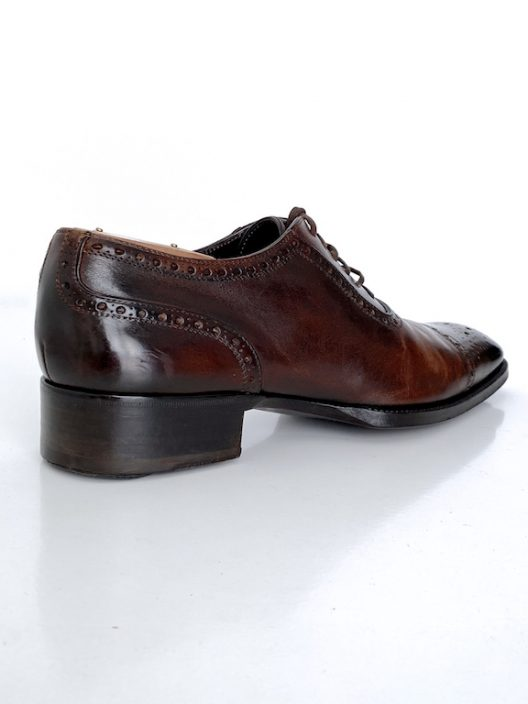 Tom Ford Burnished Edgar Lace Up Brogue
