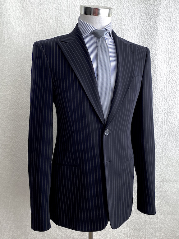 Giorgio Armani Slim Striped Suit