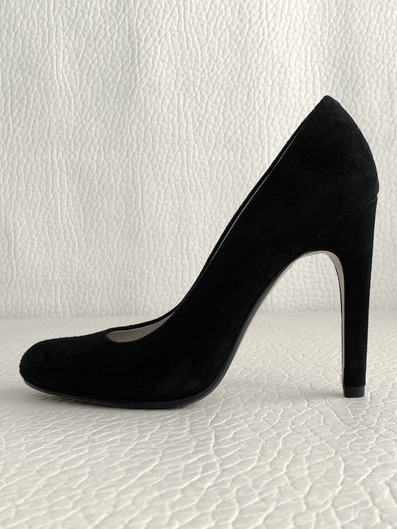 Michael Kors Black Suede Heels 110mm