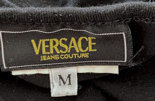 Versace Jeans Couture Black Tank Top