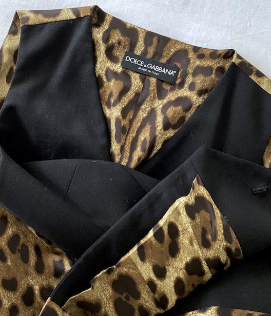 Dolce & Gabbana Animal Print Set