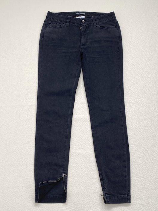 Dolce & Gabbana Black Jeans Mod. Audrey