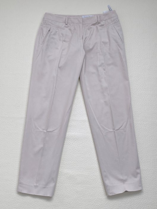 Christian Dior Pink Cotton Pants