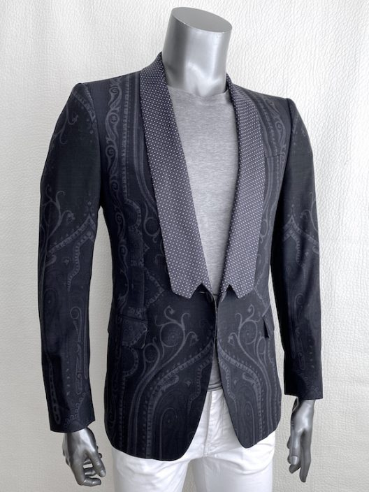 Etro Slim Jacket One Buttons Runway Pice