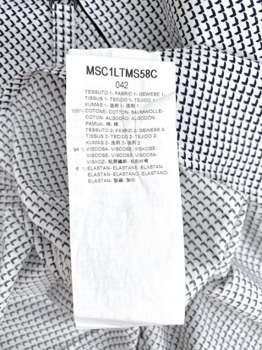 Giorgio Armani Collarless Slim-Fit Shirt