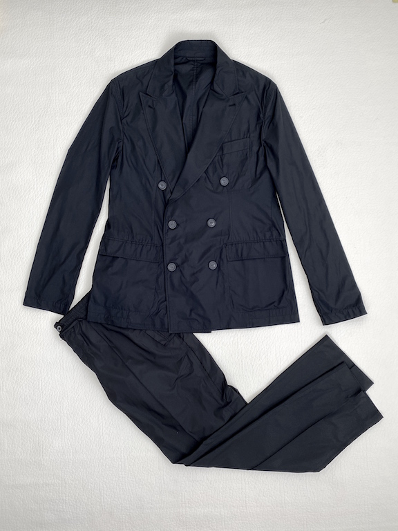RARE Lanvin summer double breasted suit